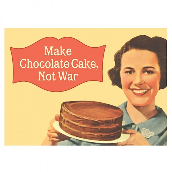 Vintage Magnet Make Chocolate Cake HALF PRICE