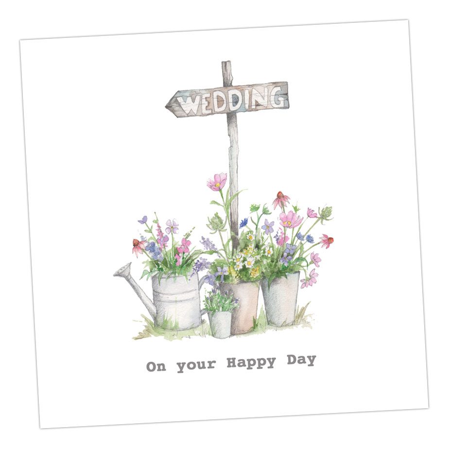 On Your Happy Day Wedding Card