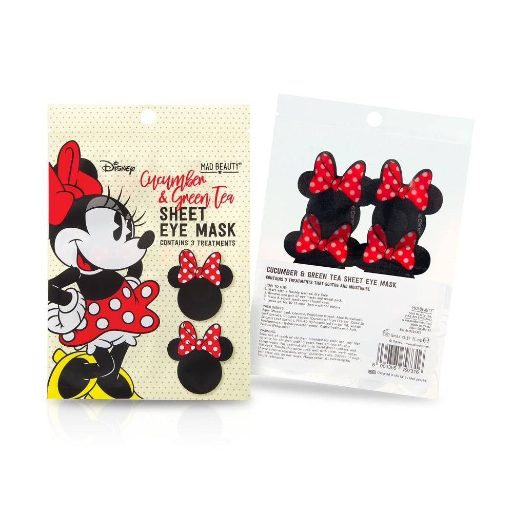 Disney Minnie Mouse Sheet Eye Masks