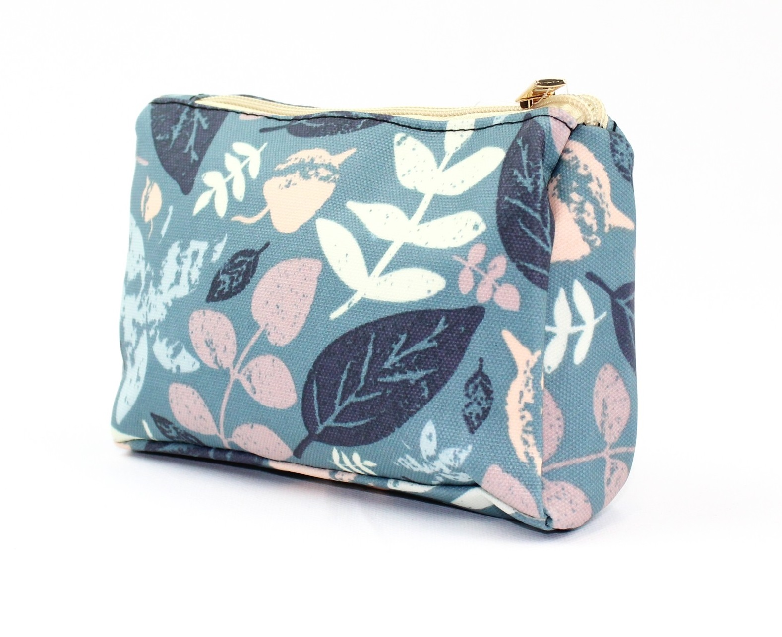 Make Up Bag Yorkshire Leaves