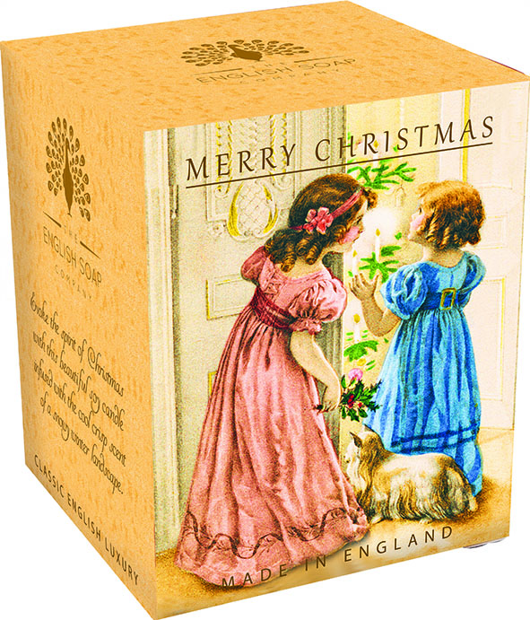 A Victorian Vintage Christmas Pure Soy Candle