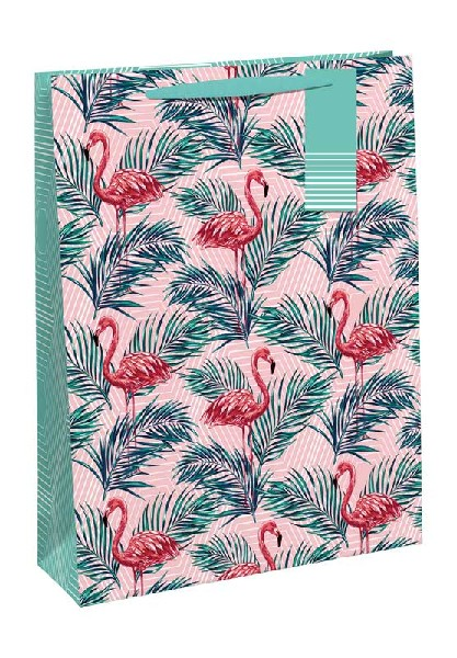 Gift Bag Medium Flamingo