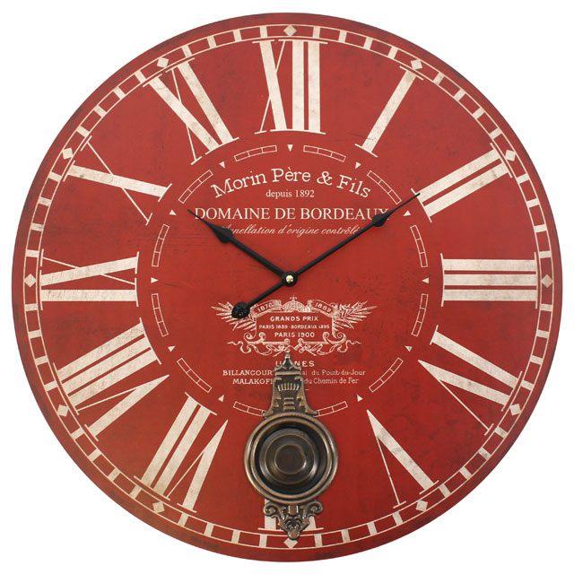 Pere & Fils Large Pendulum Clock