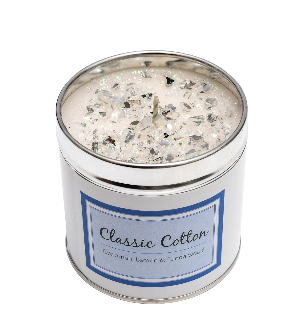 Classic Cotton Tin Candle