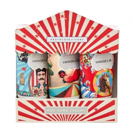 Vintage & Co Grand Circus Mini Hand Cream Trio