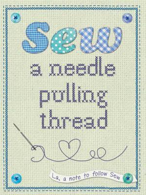 Coaster Sew A Needle Pulling Thread