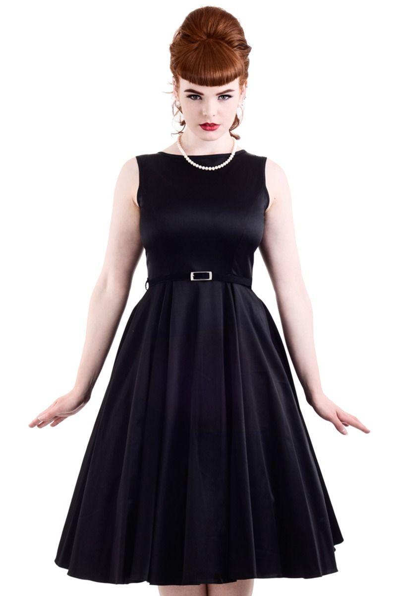 Layla Black 1950s Style Hepburn Dress 20