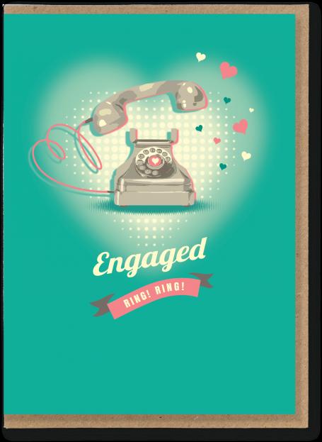 Engaged Telephone Card