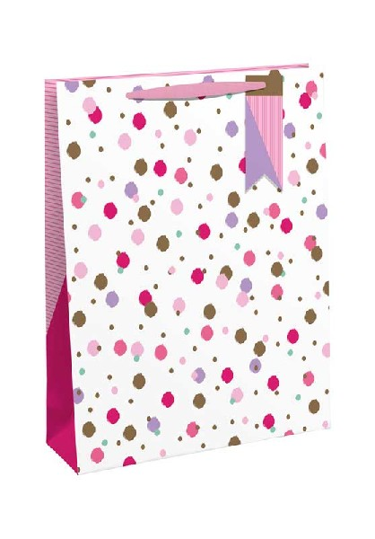 Gift Bag Small Pink Sprinkles