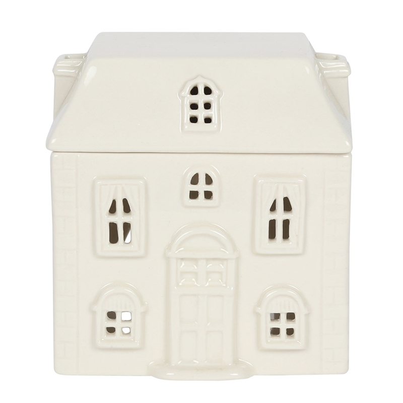 Ceramic House Oil/Melt Burner White