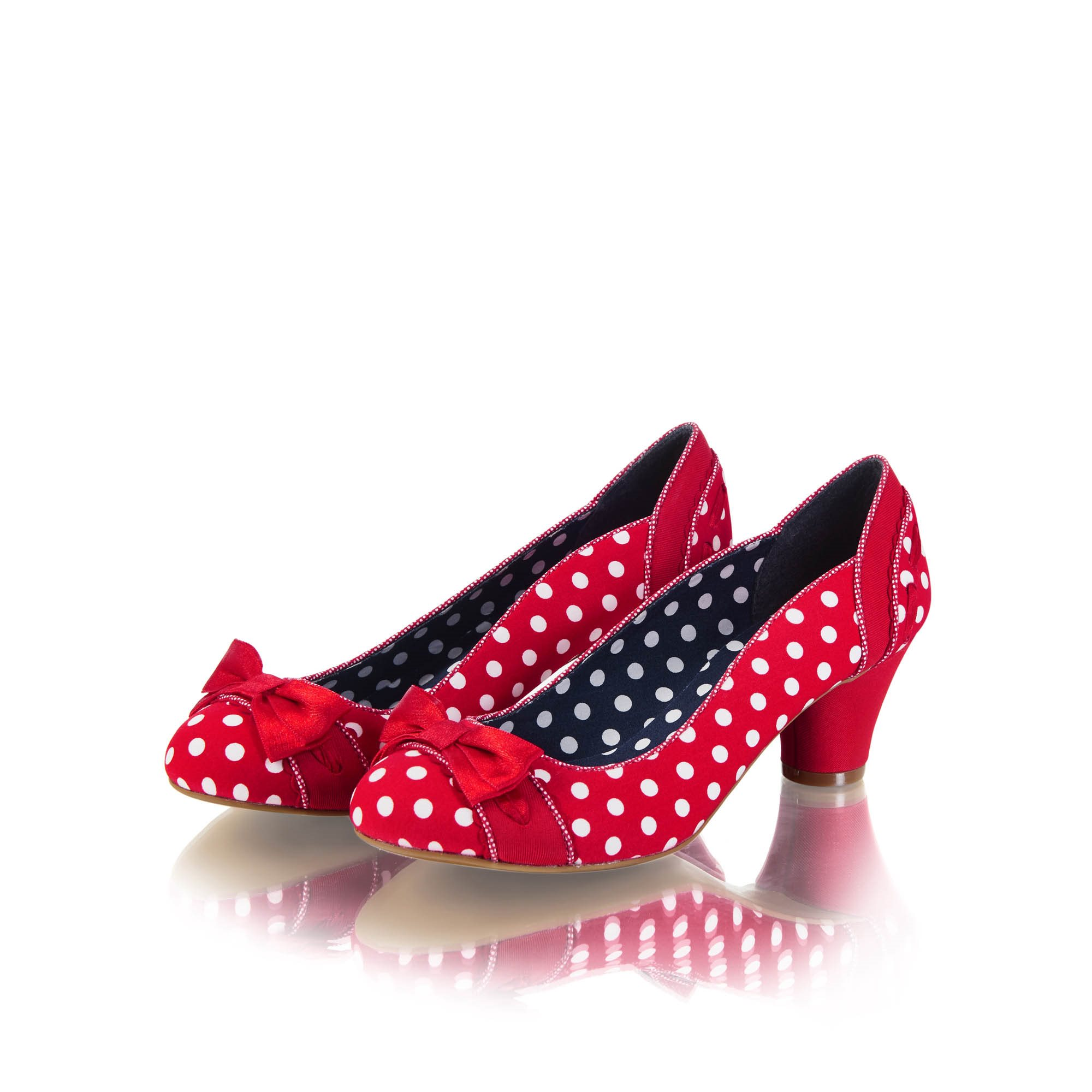 Ruby Shoo Hayley Red Polka Dot Shoes Size 3 HALF PRICE
