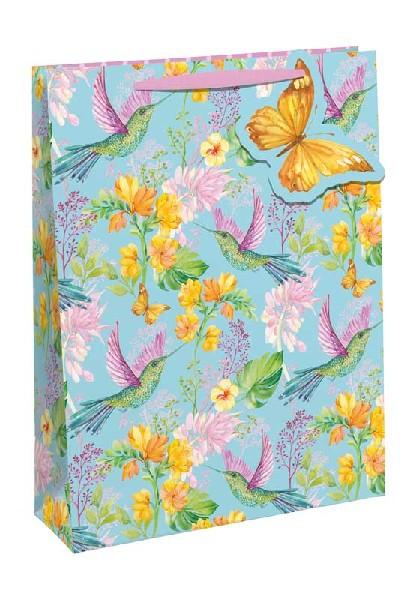 Gift Bag Medium Hummingbirds