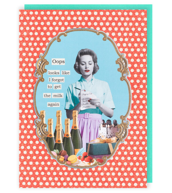 Darling Divas Forgot To Get Milk Card