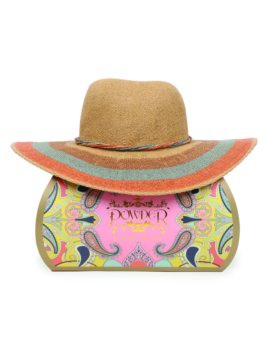 Powder Hat Ava Stripe