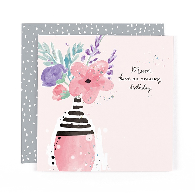 Lulu Mum Amazing Birthday Card