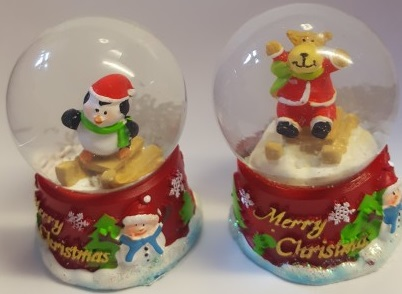 Christmas Animal Mini Snow Globe