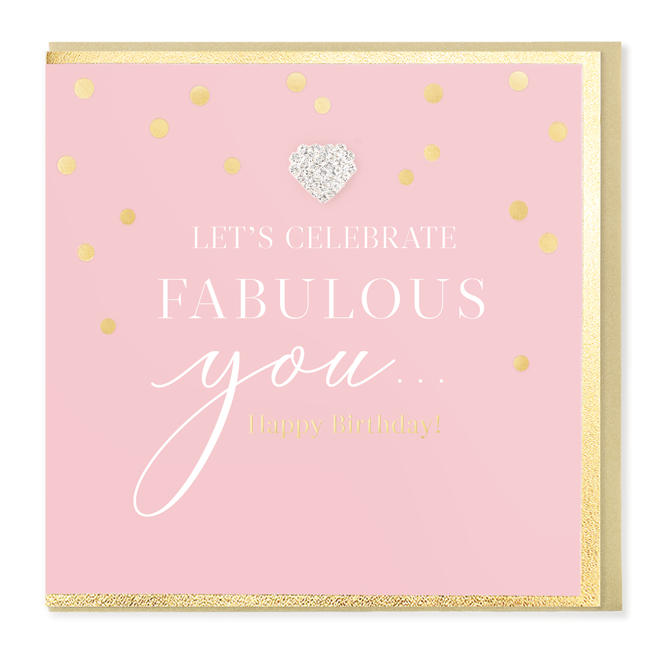 Hearts Designs Birthday Fabulous You Card
