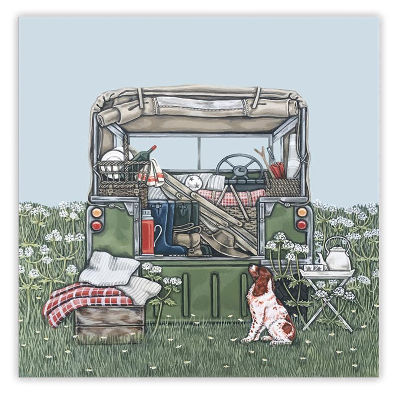 Land Rover Card