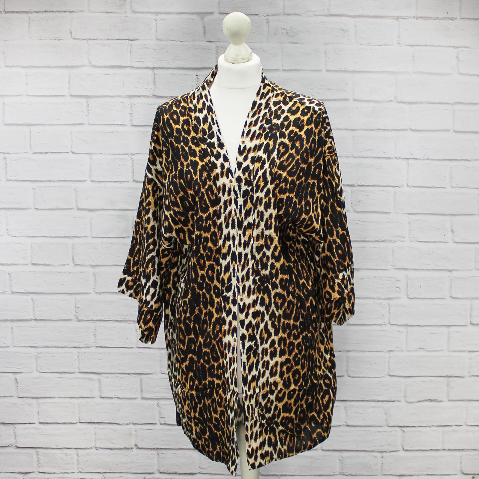 Takara Leopard Print Kimono