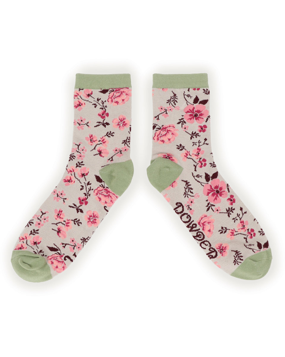 Powder Ankle Socks Pink Blossom