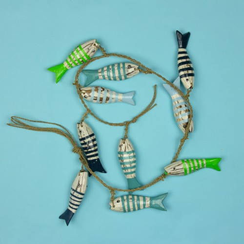 Wooden Fish String