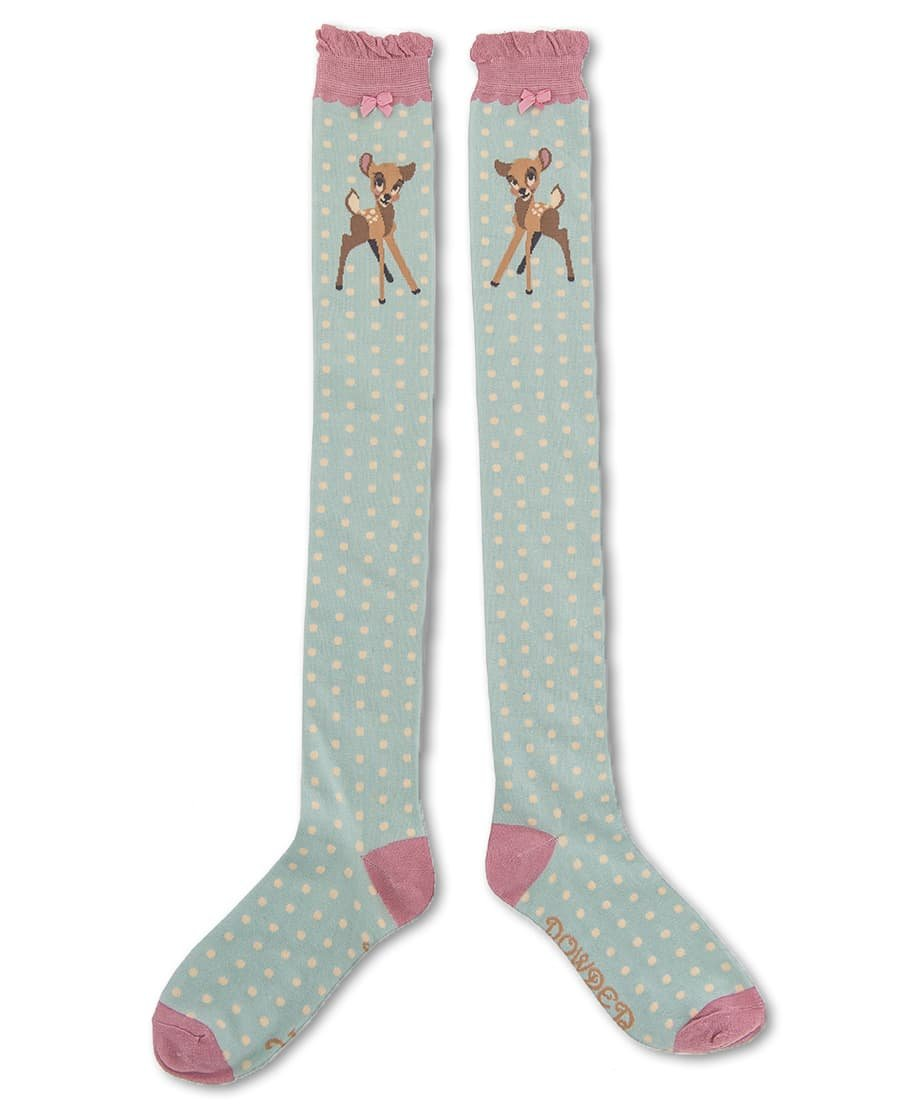 Powder Over Knee Socks Bambi