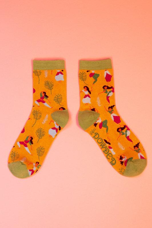 Powder Ankle Socks Morning Yoga