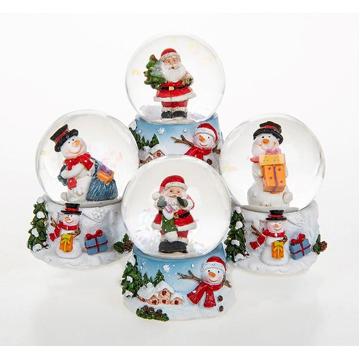 Christmas Fun Mini Snow Globes