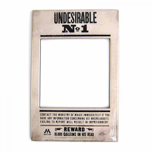 Harry Potter Undesirable No 1 Magnetic Photo Frame