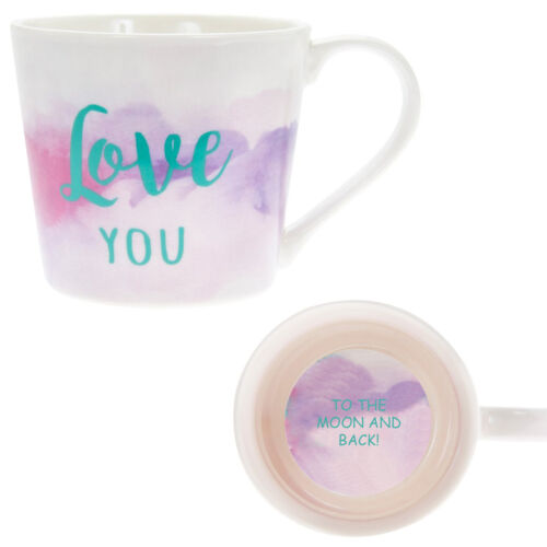 Watercolour Love You Boxed Mug