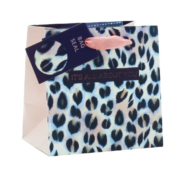 Gift Bag Extra Small It's All About You Animal Print