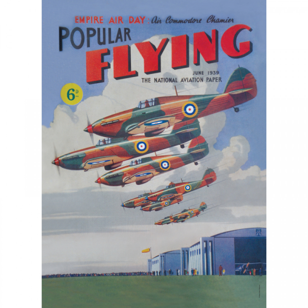 Popular Flying Spitfire Small Sign
