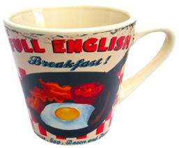 Full English 1950s Style Mug