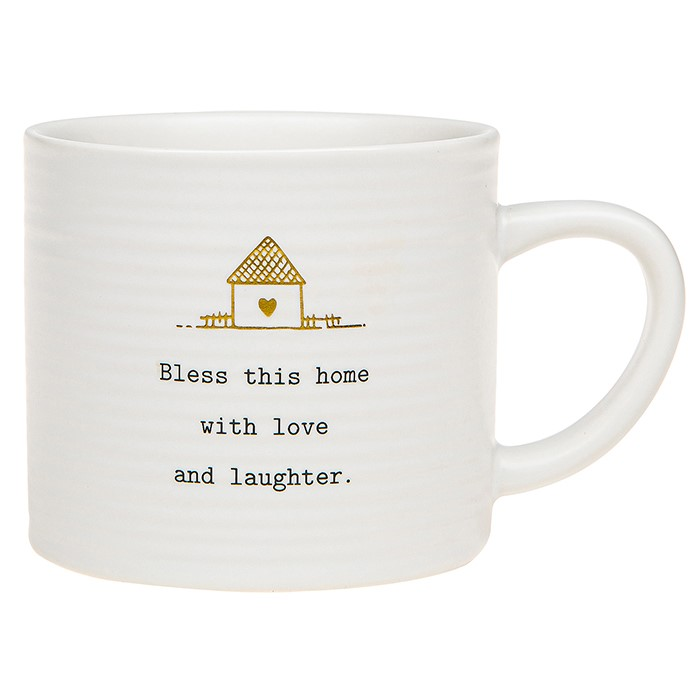 Thoughtful Words Bless This Home Mug