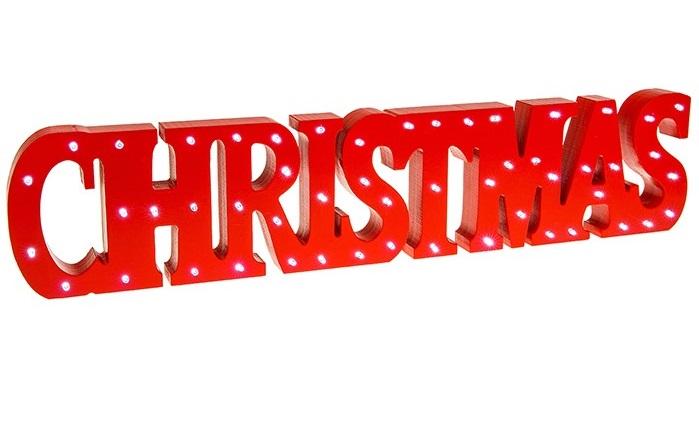 Christmas LED Sign