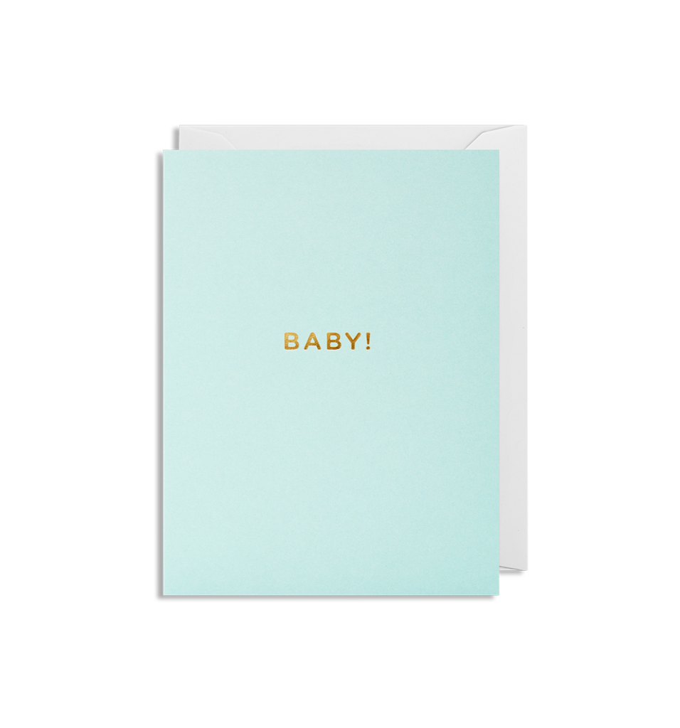 Mini Card Baby! Blue