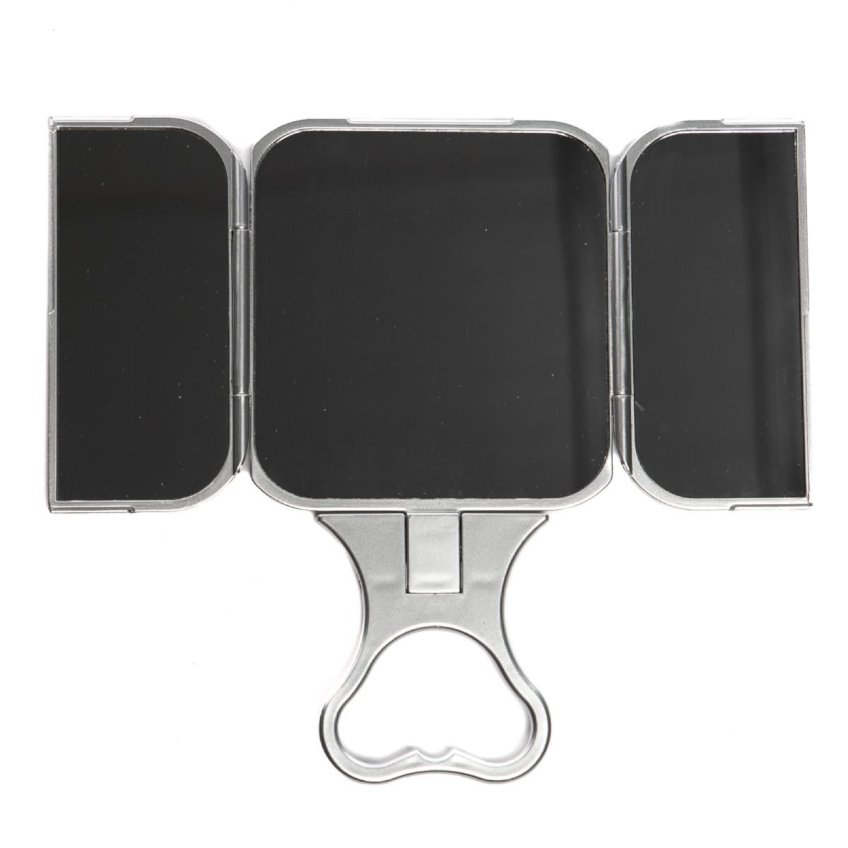 Folding 3 Way Travel Mirror Green