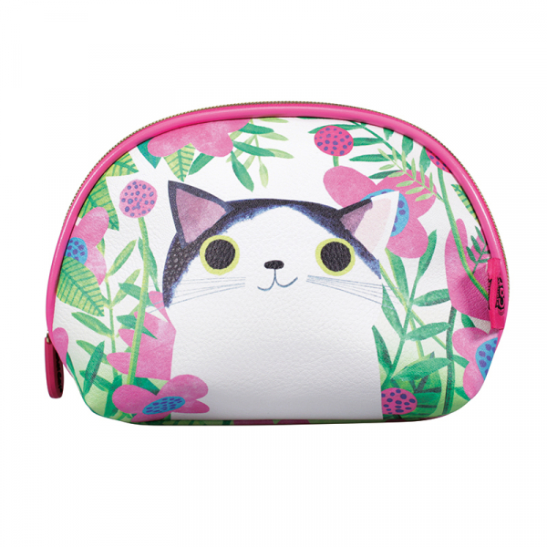 Planet Cat Complicated Cosmetic Bag