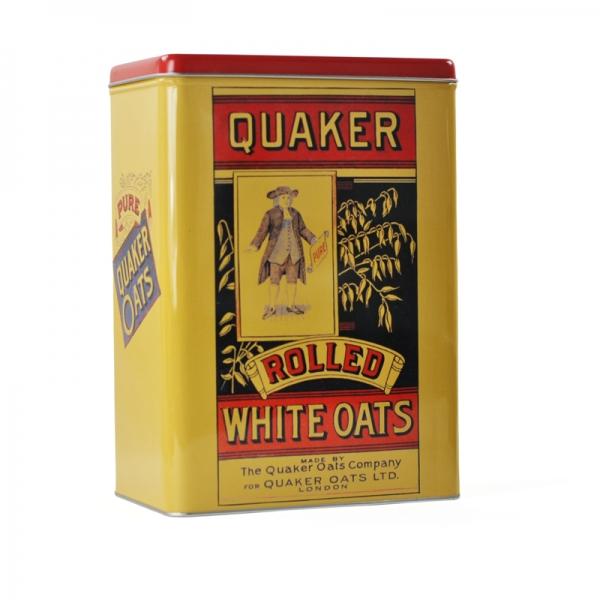 Quaker Oats Storage Tin