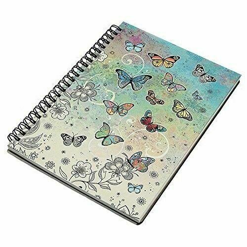 Bug Art Butterfly A5 Spiral Notebook
