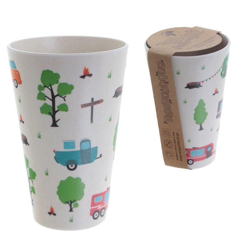 Vintage Caravan Bamboo Cup