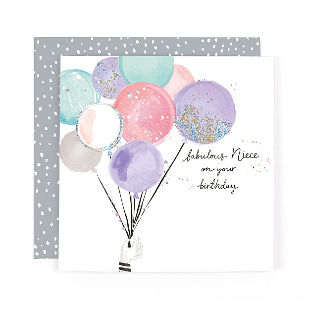 Lulu Fabulous Niece Birthday Card
