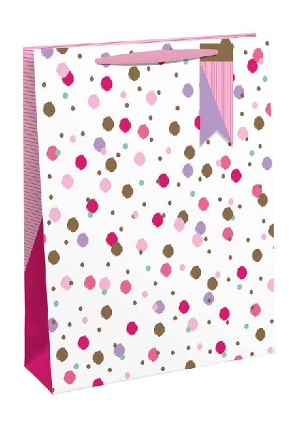 Gift Bag Medium Pink Sprinkles
