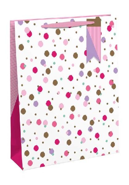 Gift Bag Medium Pink Sprinkles