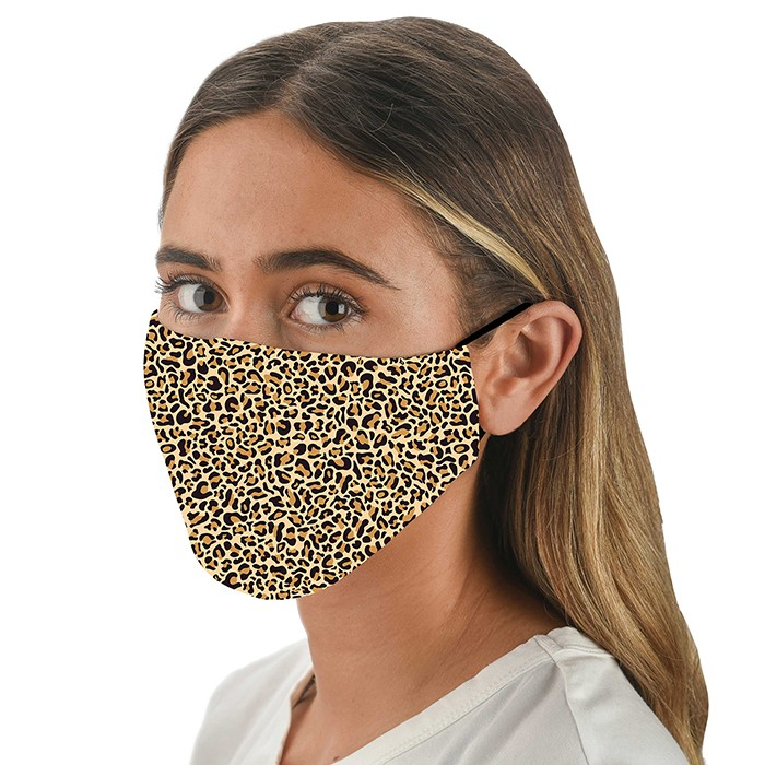 Face Mask Adult Snoozies Leopard Print