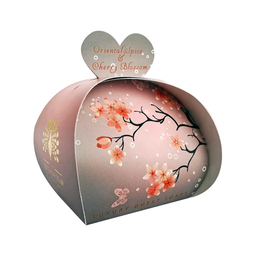 Guest Soap Bag Oriental Spice & Cherry Blossom