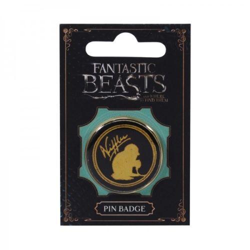 Fantastic Beasts Niffler Glitter Pin Badge