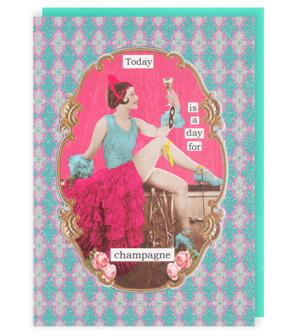 Darling Divas Day For Champagne Card