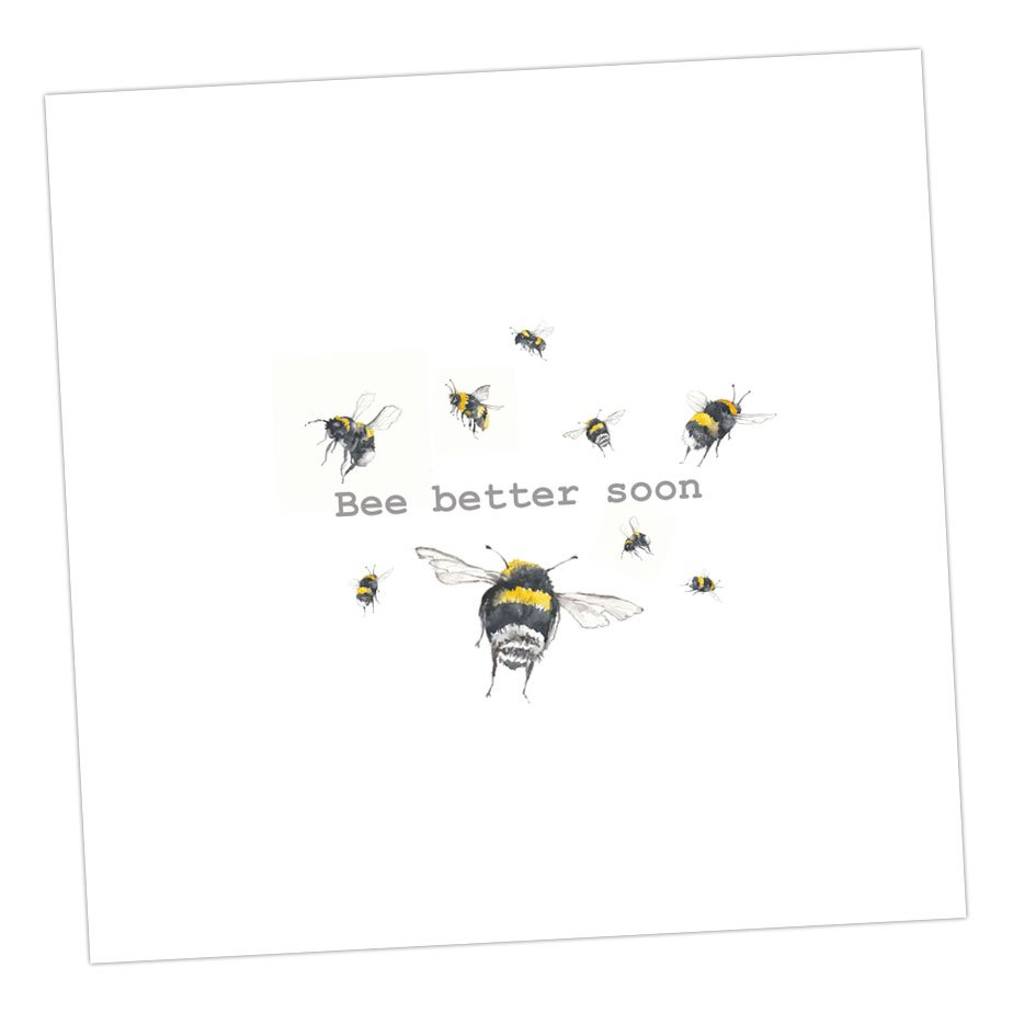 Bee Better Soon Card