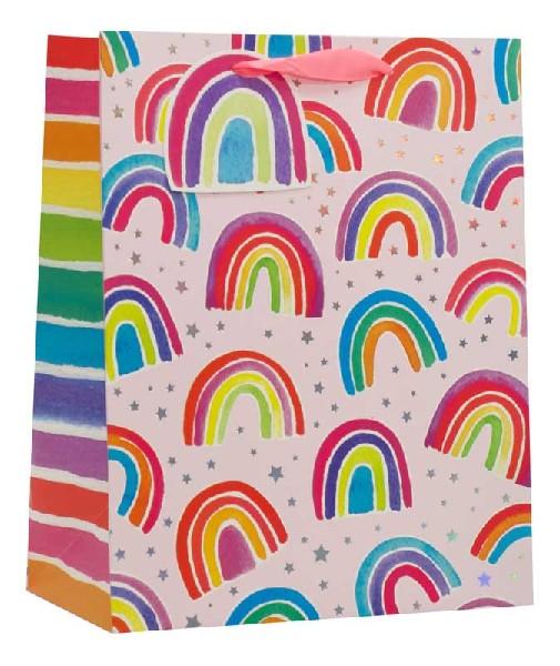 Gift Bag Large Rainbows